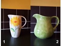 **** 2 X Beautiful Jugs From The Well Known Brand ESTE Ceramic – from £60 ****