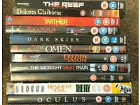 13 DVD Horror films and movies