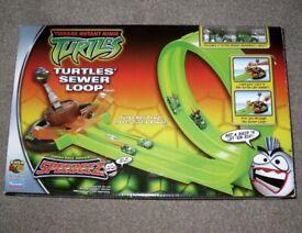 Unused TMNT Teenage Mutant Ninja Turtles Speedeez Sewer Loop Playset