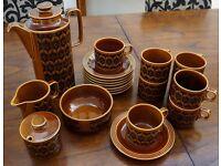 Classic Hornsea pattern coffee service