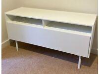 IKEA RAMSATRA TV BENCH / TV STORAGE UNIT RRP £120 FULLY ASSEMBLED Brand New