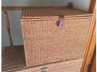Seagrass storage unit box chest trunk toy box