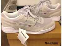 NEW REEBOK WORKOUT IS TRAINERS £30