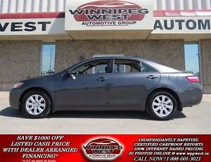 2007 Toyota Camry XLE V6, ALL OPTIONS, LOW KMS, BLUETOOTH, KEYLE