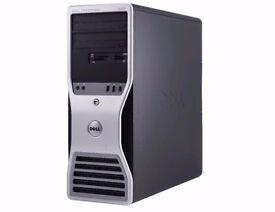 DELL PC System - Intel Xeon - 6GB RAM - 1GB Graphics -2 x 250GB Hdd - Win7 *1 Year Warranty*