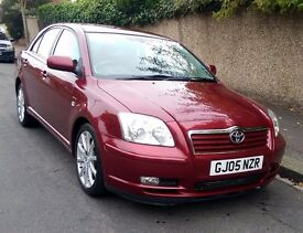 2005 Toyota Avensis 2.0 VVT-i T Spirit AUTO 5dr HISTORY 6 MONTHS WARRANTY ( t-z awesome-cars)