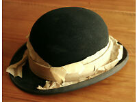 Genuine Vintage Loyalty's Bowler Hat London Size 3 (21 inches/ 53cm)