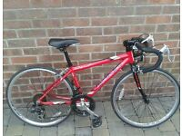 Viking road bike for boys 7-10 yr old