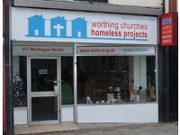Charity Shop Volunteers needed to help us in our busy Worthing Town Centre Shop