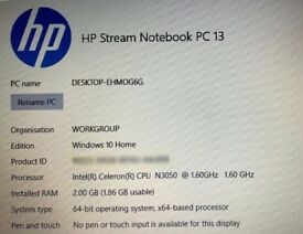 HP Stream 13 Laptop