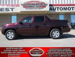 2007 Honda Ridgeline 4X4, LOADED, LOW KMS, EXTRA CLEAN & EXTRA S