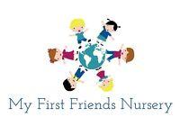 Nursery Child Care Spaces
