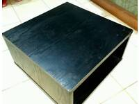 Square coffee table side table
