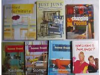 7 Home improvement books SEEN ON TV changing rooms how clean is your house furniture painting ideas