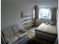 Large, bright double room for a single person in Battersea