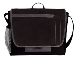 MESSENGER BAG WITH SHOULDER STRAP IDEAL FOR WORK COLLEGE SCHOOL OFFICE BUSINESS