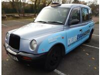 LTI, TXII, London Taxi 06 reg with current TFL Plate