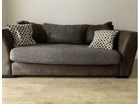 2 DFS sofas with FREE DELIVERY