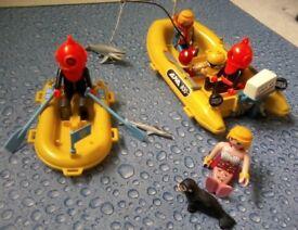 Playmobil sea scene