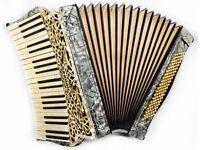 Hohner Organetta IV - 41 Keys / 120 Bass - Curved Keyboard - Rare Vintage Piano Accordion