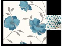 Pretty teal wallpaper by Arthouse