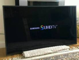 55in Samsung Curved Smart 4K SUHD LED TV WI-FI Freeview HD & FreeSat HD [NO STAND]