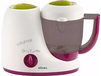Vertually Unused Condition - Beaba Babycook, Babyfood Processor, steam-cook-blend-reheat
