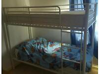 Shorty bunkbeds with excellent mattresses
