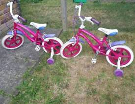 Bargain Children Poly Bike 14