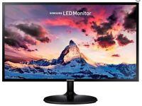 "Samsung S24F352 23.5"" Full HD Black computer monitor"