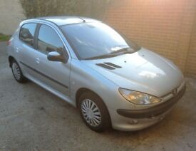 Peugeot 206 1.4 Petrol Silver VERY NICE AND CLEAN CONDITION