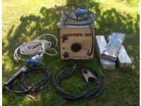 Oxford Olympic 180, Fan Cooled Electric Welder, 35-180A output, good working order