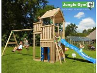 Jungle Gym - Palace Playhouse and Swing outdoor play equipment