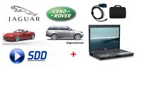 Jaguar Land Rover JLR SDD 160.04 Diagnostics Dedicated Laptop Mangoose PRO