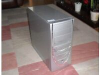 SILVER WORKING COMPUTER - NEEDS HARD DRIVE - ONLY £10