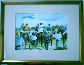 HORSE RACING - LIMITED EDITION PRINT BY KEEN