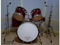 MAPEX HORIZON 5 PIECE DRUM KIT, WITH FULL HARDWARE