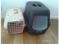 Pet carrier x2