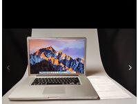 """Apple MacBook Pro A1297 17"""" laptop"""