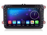 Volsmart Quad Core 8inch Android 5.1 Car GPS DVD for VW Head Unit