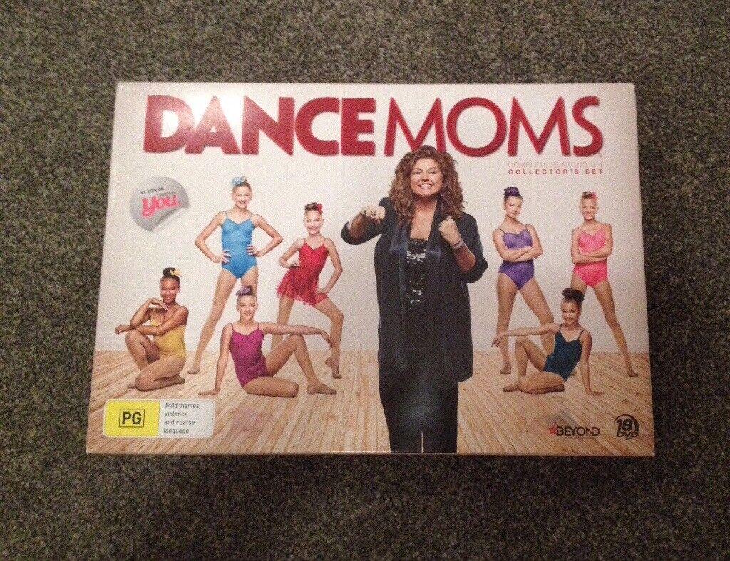 Dance Moms DVD Collectors Set. Complete seasons 3-4.