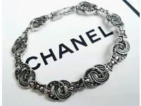 Classic Chanel vintage Marcasite Bracelet Brand new