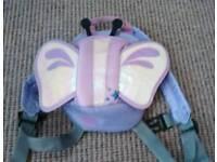 back pack walking harness