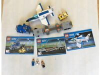 Lego City 60079 Training Jet Transporter complete set