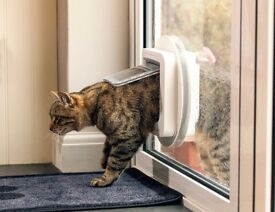 Sureflap Microchip Cat Flap - BRAND NEW - 3 yr warranty. Can be installed into wall, glass or door