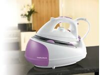 Morphy Richards 333020 Iron Steam Generator, 2200 W - Pink/White