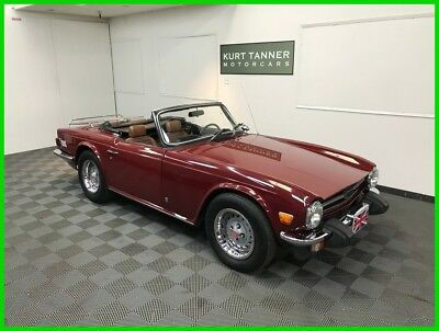 1974 Triumph TR-6 Roadster 1974 TRIUMPH TR-6 CONVERTIBLE. 96,994 MILES. EXCELLENT RUNNING, DRIVING CAR.