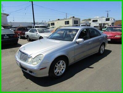 Mercedes-Benz E-Class E320 2003 Mercedes-Benz E320 Used 3.2L V6 18V Automatic Sedan Premium NO RESERVE