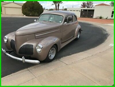 Studebaker 2-Door Sedan Resto-Rod 1940 Studebaker President Club, 350 Pontiac V8, TH400 3-Speed Automatic Trans