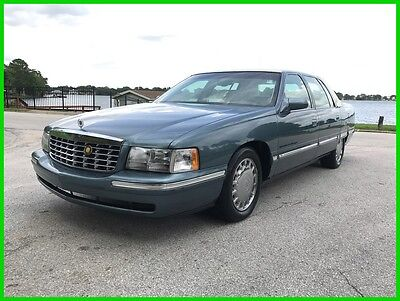 1999 Cadillac Deville Fleetwood Limited 1999 Cadillac Deville Fleetwood Limited Low Miles 40K 1 Of 2 Made No Reserve